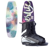Hyperlite Divine Jr. Wakeboard + Hyperlite Remix Jr. Bindings - Girl's 2014