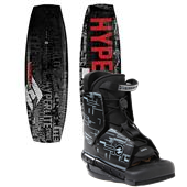 Hyperlite State Wakeboard + Frequency Bindings 2013