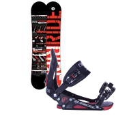 Ride Agenda Snowboard + EX Bindings 2013