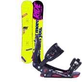 Ride Buckwild Snowboard + EX Bindings 2013