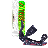 Ride Machete Wide Snowboard + EX Bindings 2013