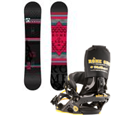 Rome Tour Wide Snowboard + Mob Boss Bindings 2013