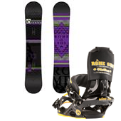 Rome Tour Snowboard + Mob Boss Bindings 2013