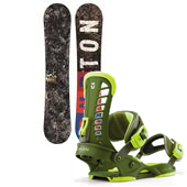 Burton Blunt Wide Snowboard + Union Atlas Bindings 2013