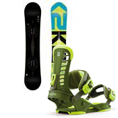 K2 Slayblade Wide Snowboard + Union Atlas Bindings 2013