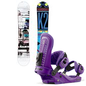 K2 Raygun Snowboard + Union Force Bindings 2013