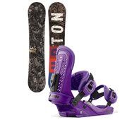 Burton Blunt Wide Snowboard + Union Force Bindings 2013