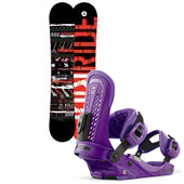 Ride Agenda Snowboard + Union Force Bindings 2013