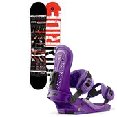 Ride Agenda Wide Snowboard + Union Force Bindings 2013