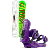 Ride Machete Wide Snowboard + Union Force Bindings 2013