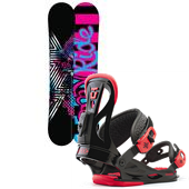 Ride Rapture Snowboard + Union Flite Lady Bindings - Women's 2013