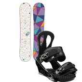 Burton Genie Snowboard + Burton Citizen Bindings - Women's 2013