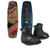 Ronix El Von Videl Schnook Wakeboard w/ Lights + Divide Bindings 2013