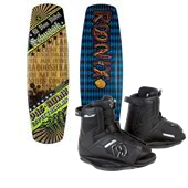Ronix El Von Videl Schnook Wakeboard 213 + Divide Bindings