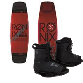 Ronix LTD Bandwagon ATR Wakeboard + Network Wakeboard Bindings 2014