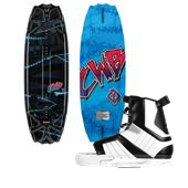 CWB Surge Wakeboard + Hyperlite Remix Bindings - boys 2012