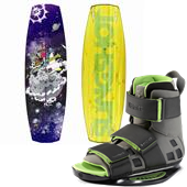 Slingshot Shredtown Wakeboard + Verdict Bindings 2013
