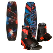 Liquid Force Fusion Grind Wakeboard + Transit Bindings 2014