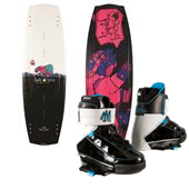 Liquid Force Melissa Hybrid Wakeboard + Melissa Bindings - Women's 2014