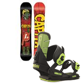 CAPiTA Horrorscope Snowboard + Union Flite Bindings 2015