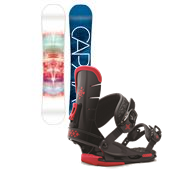 CAPiTA Space Metal Fantasy Snowboard + Union Flite Lady Bindings - Women's 2015
