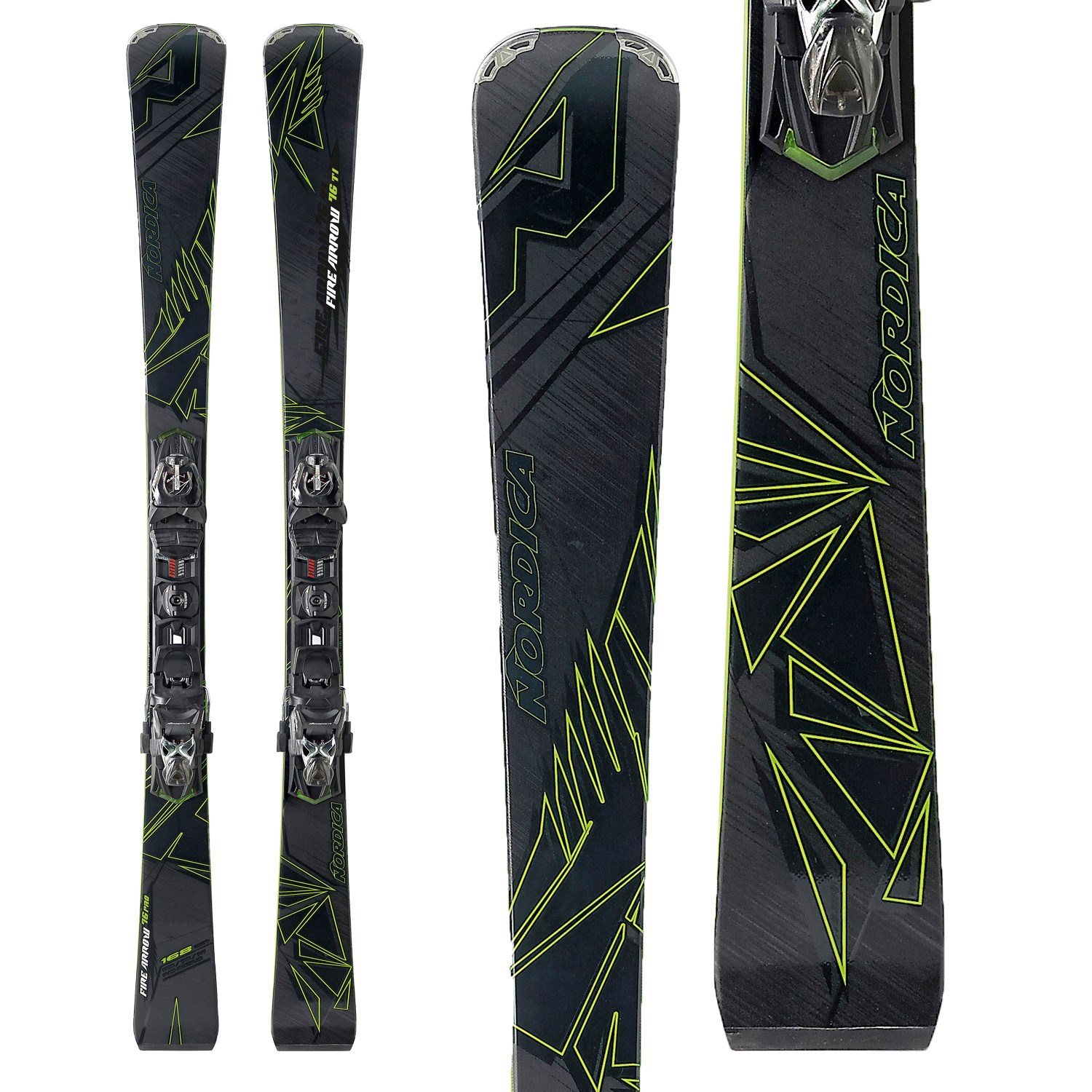 Nordica Firearrow 76 Ti Skis + N PRO P.R. EVO Bindings