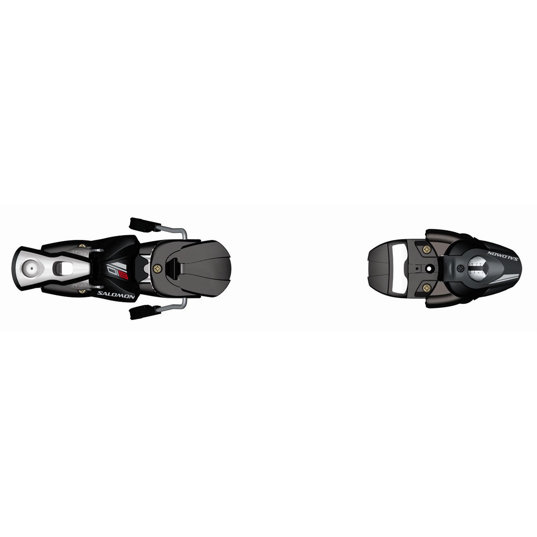 Salomon 609 (75mm Brake) Ski Bindings 2008