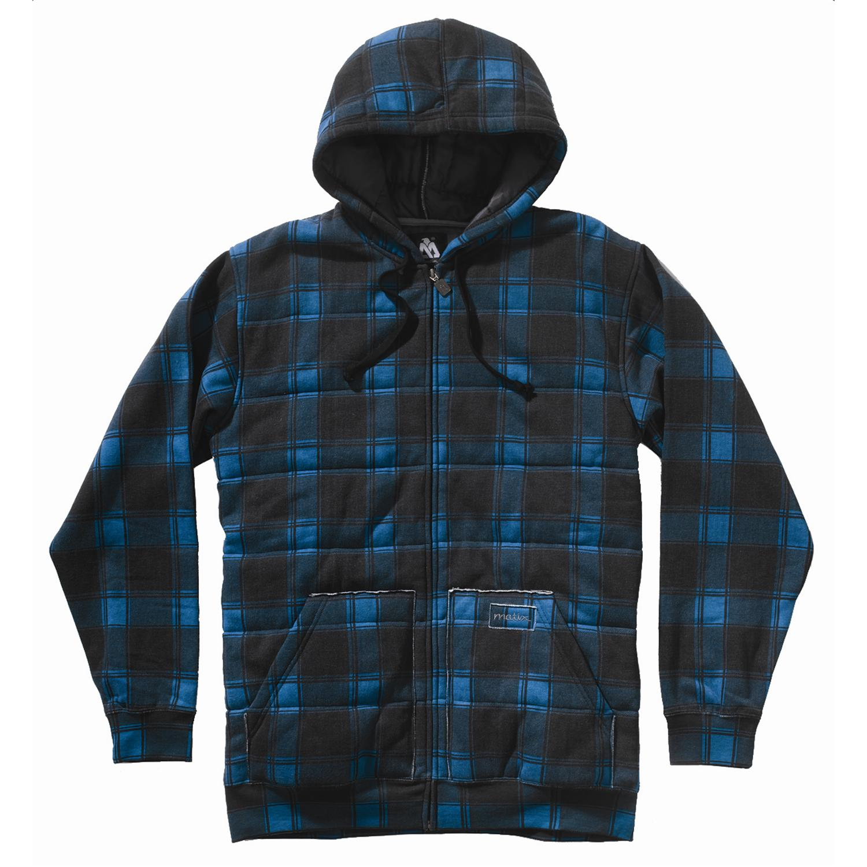 Matix asher plaid hoodie evo outlet - Hooi plaid ...