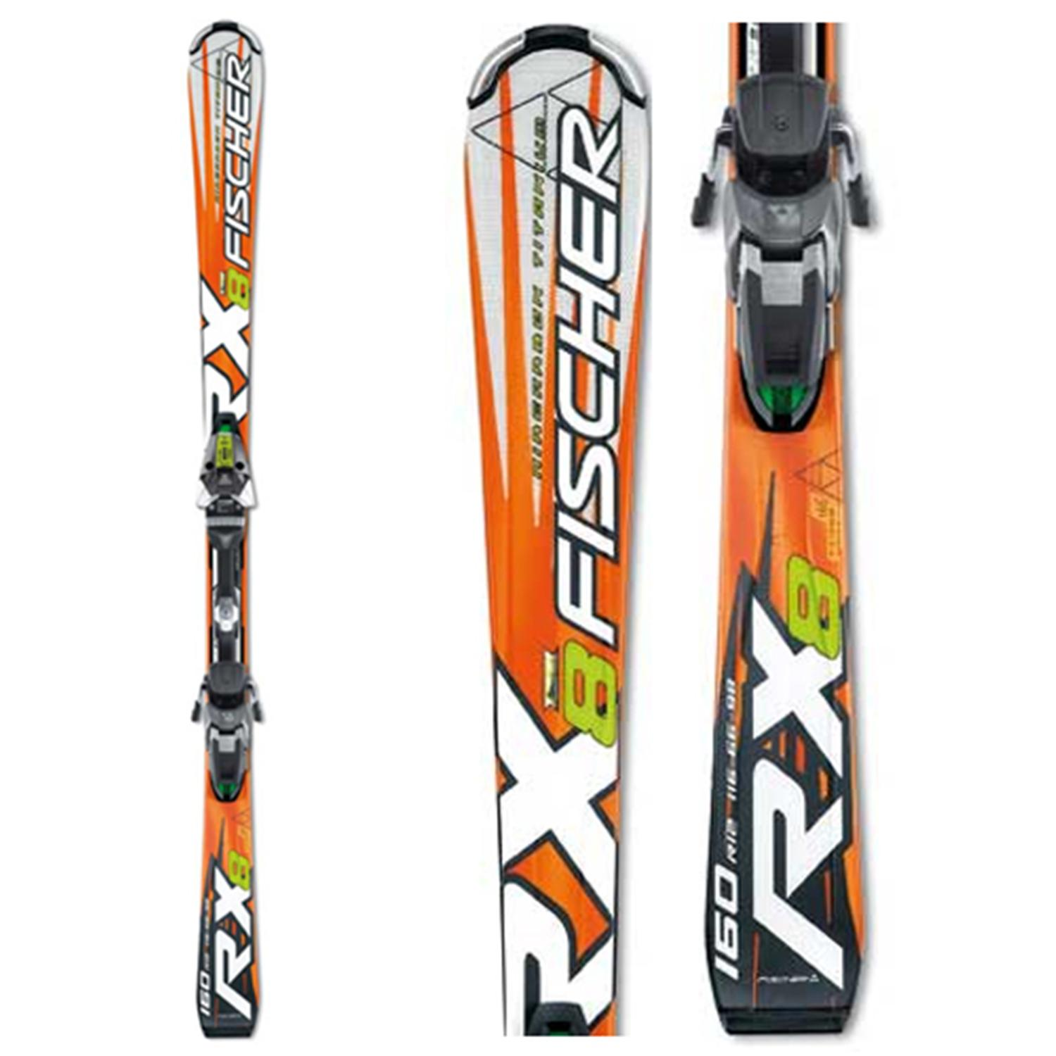 Fischer RX8 Skis + Bindings - Used 2007
