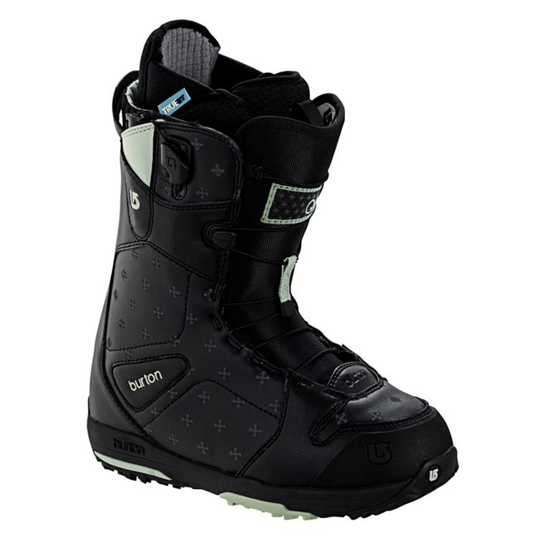 burton q snowboard boots s 2008 evo outlet