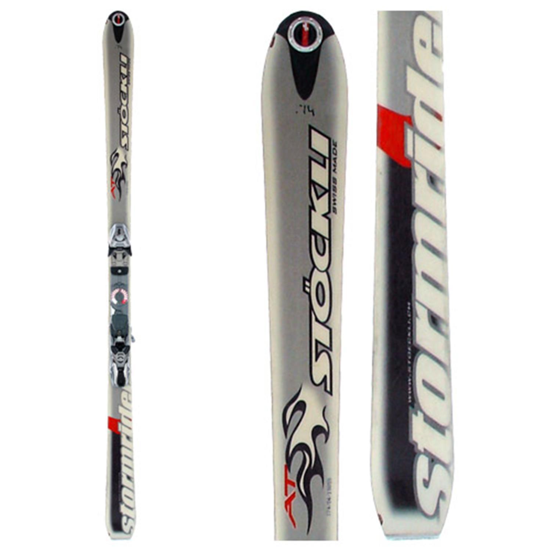 Stockli Stormrider AT Skis + Bindings - Used 2005