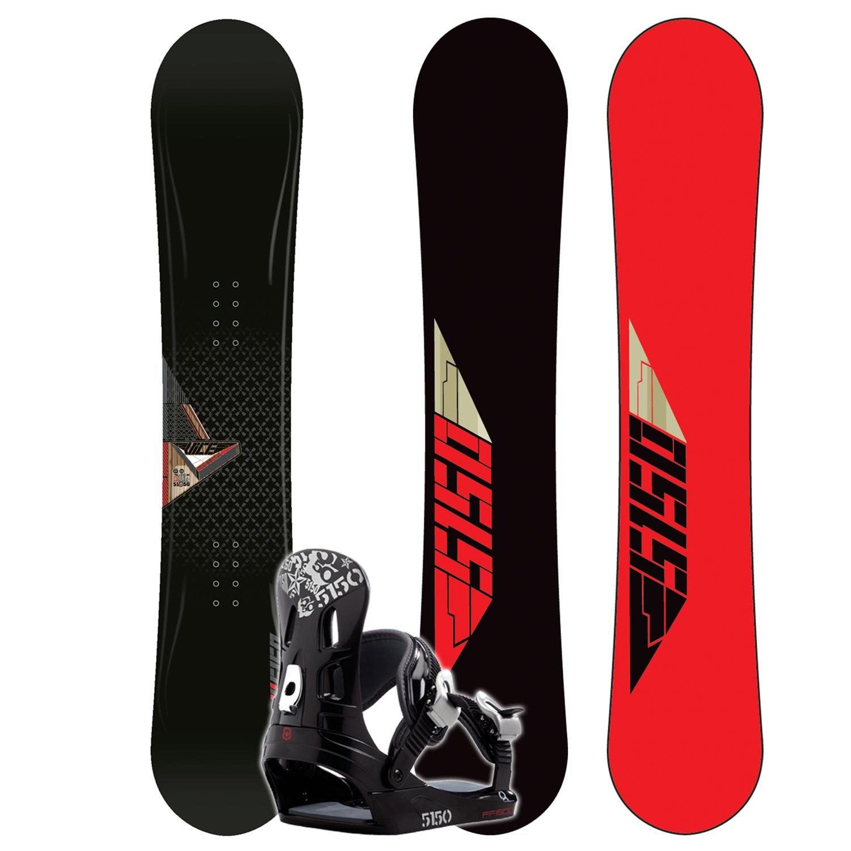 5150 Vice Snowboard + FF1500 (Black) Bindings 2008