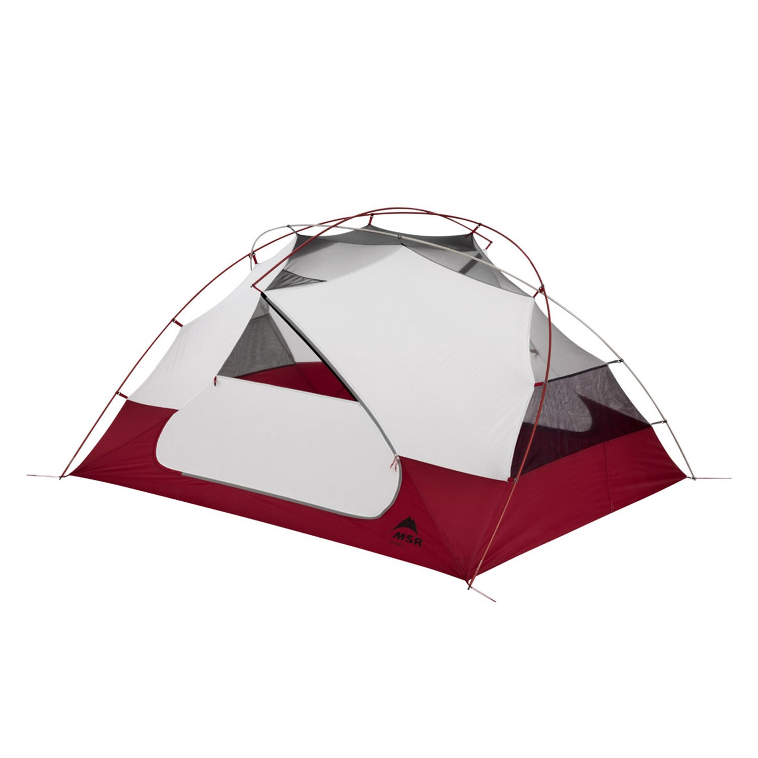 MSR Elixir 3 Tent 2021 in Red | Nylon/Polyester