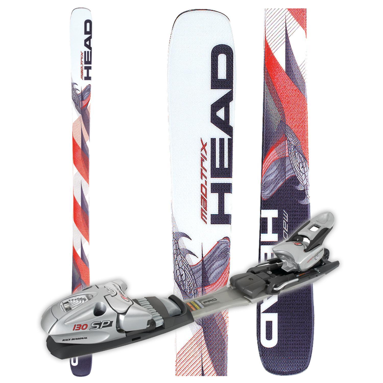 Head Mojo Mad Trix Skis - With Bindings - Used 2005