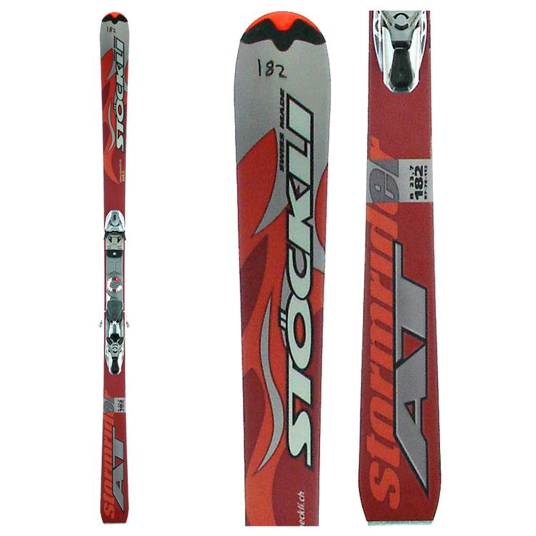 Stockli Stormrider AT Skis + Bindings - Used 2007