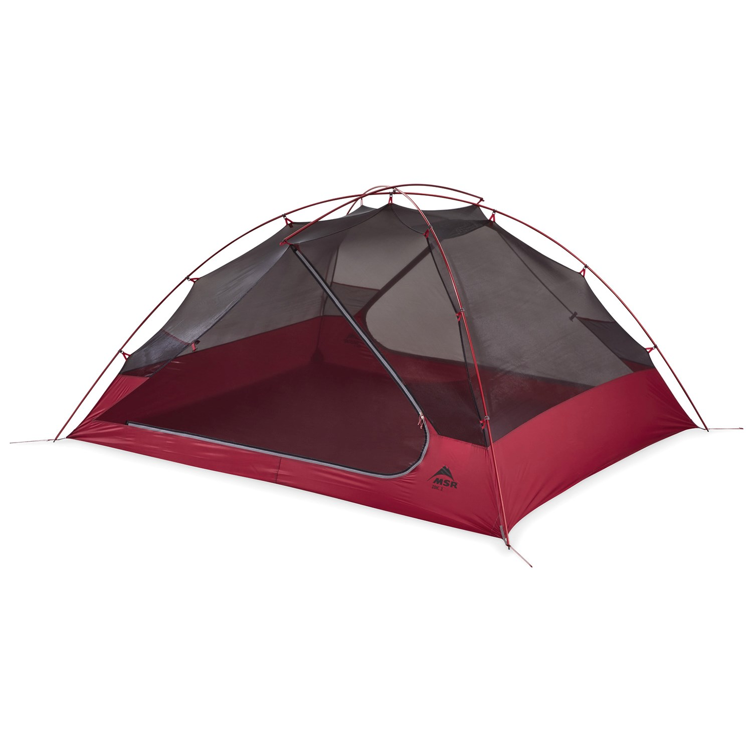 MSR Zoic 3 Tent 2021 in Red | Aluminum