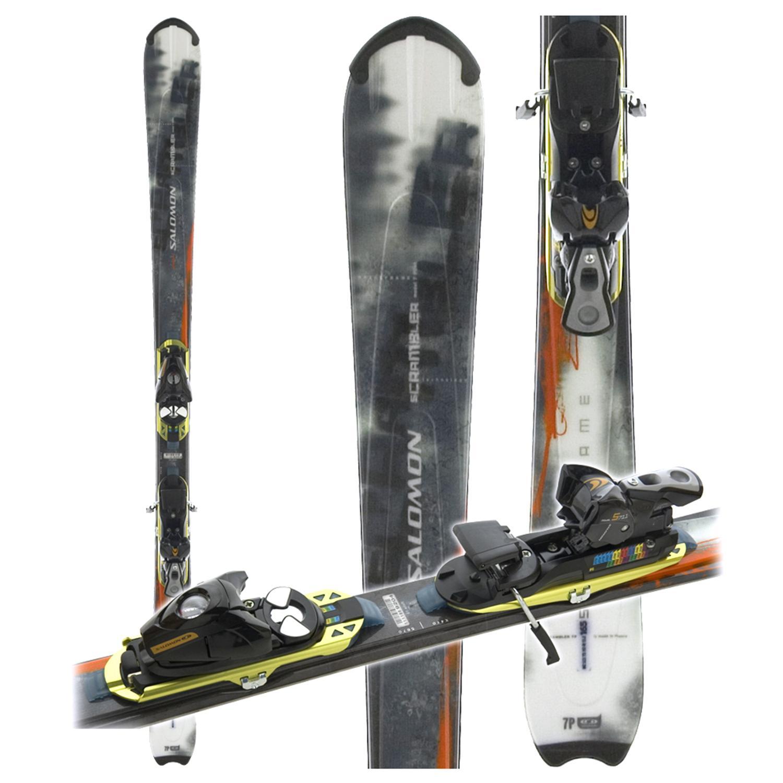 Salomon Scrambler 7 Pilot Skis + S711 Bindings 2005