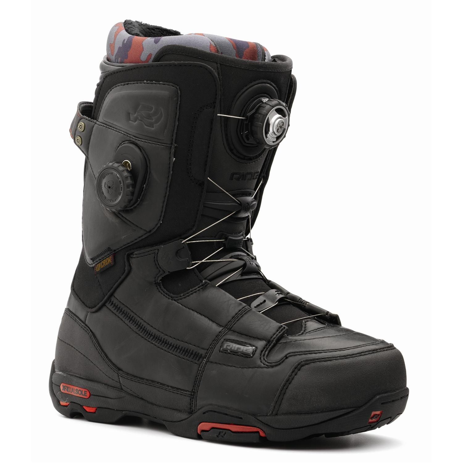ride crew boa focus snowboard boots 2009 evo outlet. Black Bedroom Furniture Sets. Home Design Ideas