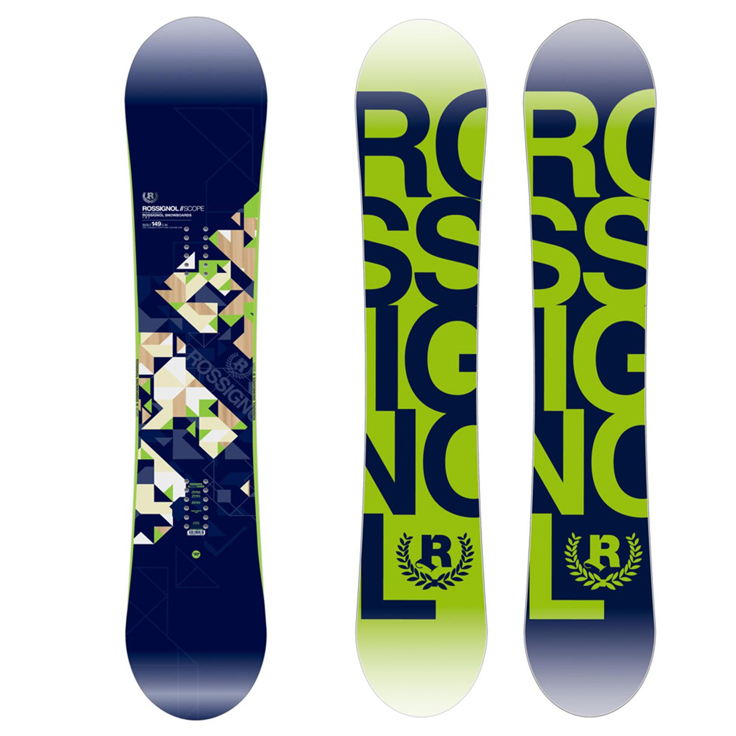 rossignol scope snowboard 2009 evo outlet