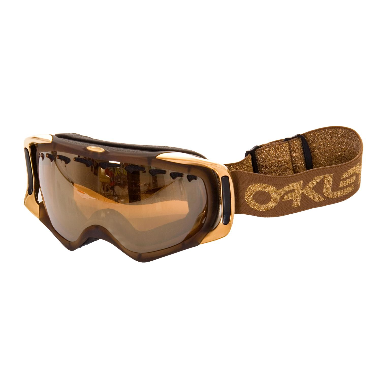 oakley crowbar gold iridium