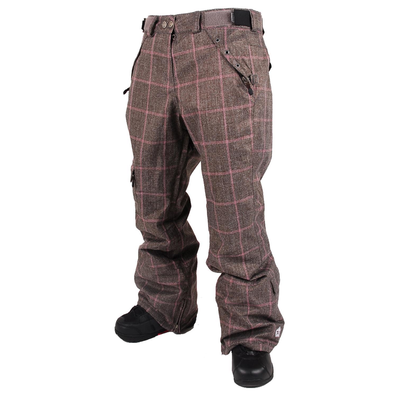 Fantastic   Chelsea Ponte Plaid Skinny Leg Pants For Women In Black Watch