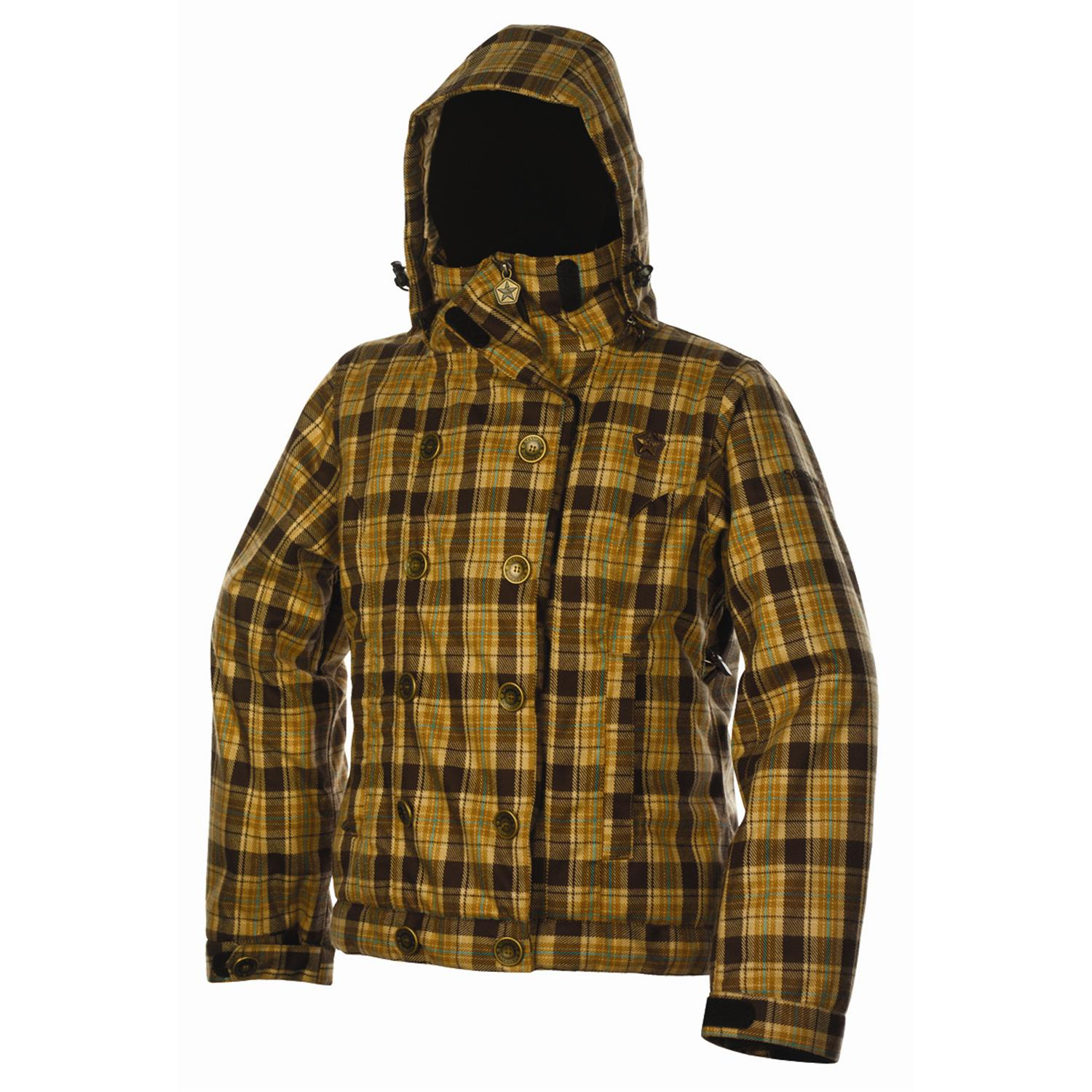 nau Down Stole Plaid Jacket - Women s | evo outlet