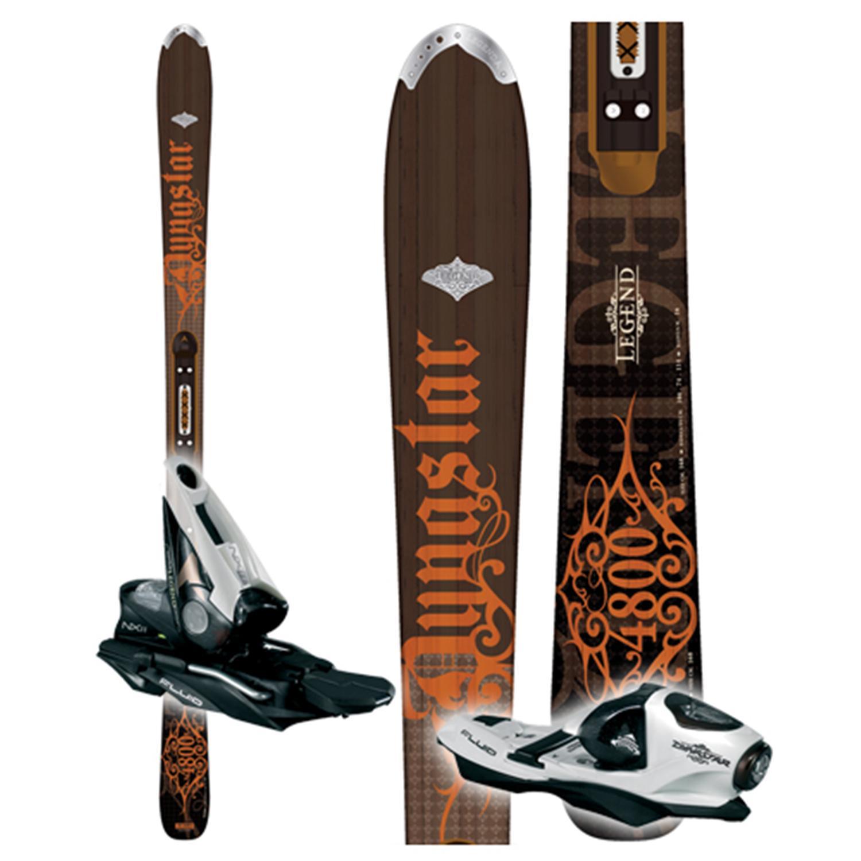 Dynastar Legend 4800 Skis + Bindings - Used 2008