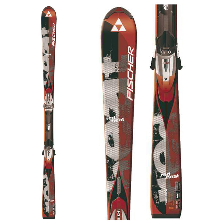 Fischer Red Heat RF Skis + Fischer FS11 Railflex Bindings