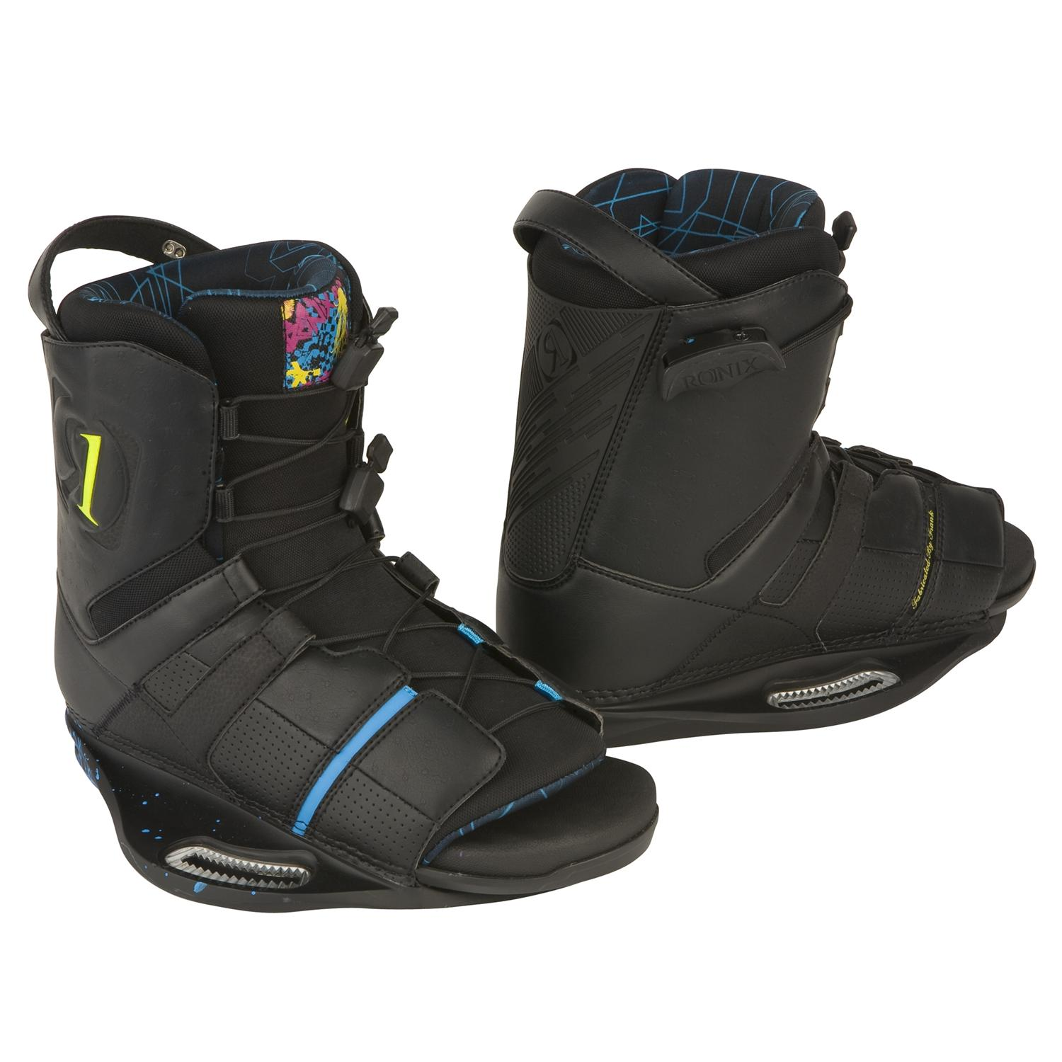 Ronix Frank Wakeboard Boots (Black) 2009