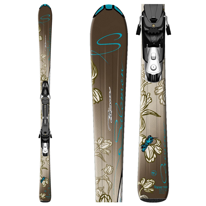 Salomon Origins Topaz Skis + LZ9 Bindings 2010