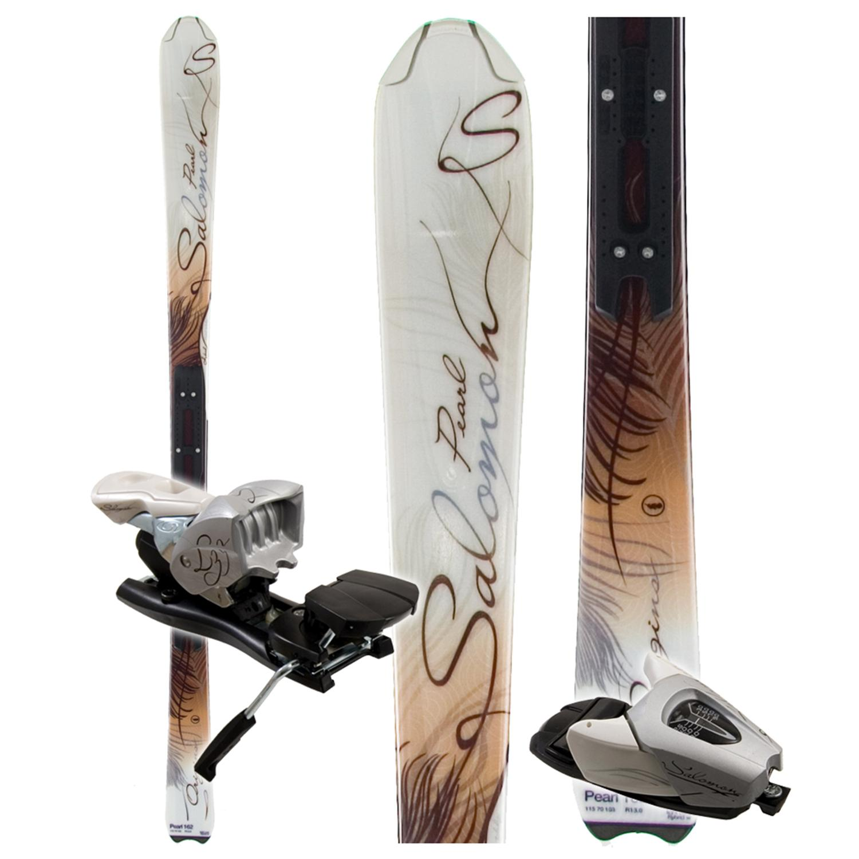 Salomon Origins Pearl Skis + LZ9 Bindings