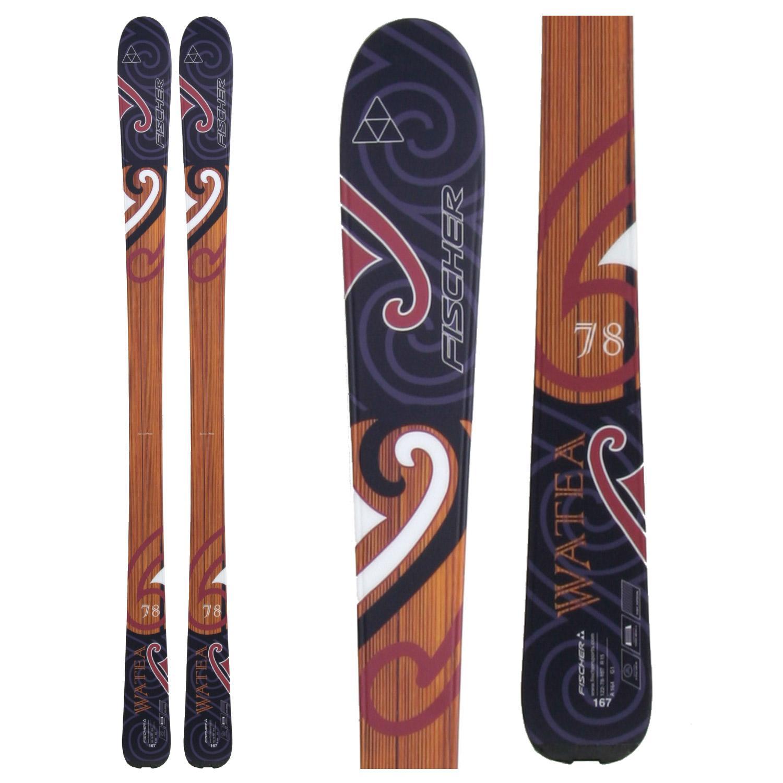 fischer watea 78 skis 2010 evo outlet. Black Bedroom Furniture Sets. Home Design Ideas