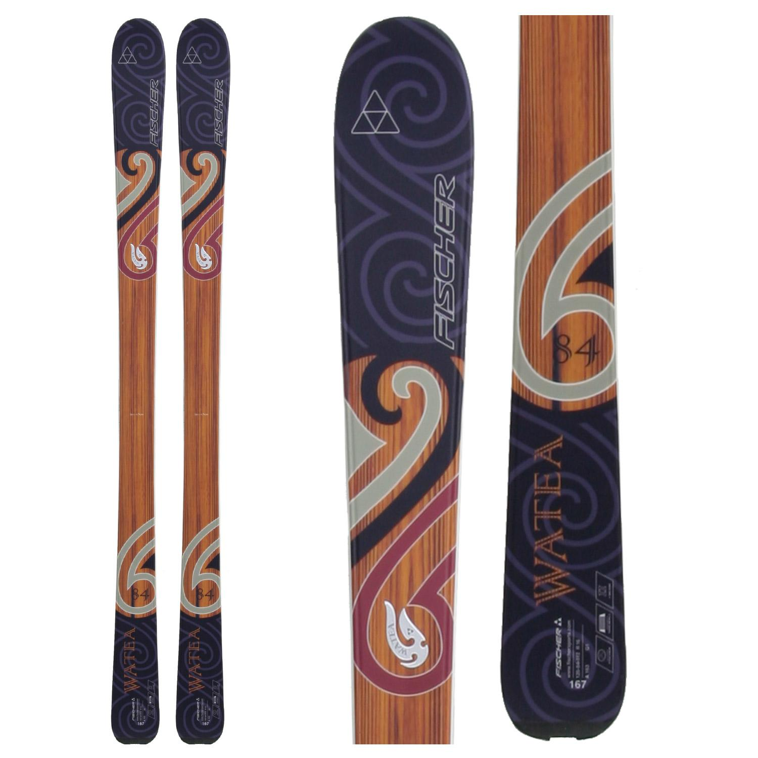 fischer watea 84 skis 2010 evo outlet. Black Bedroom Furniture Sets. Home Design Ideas