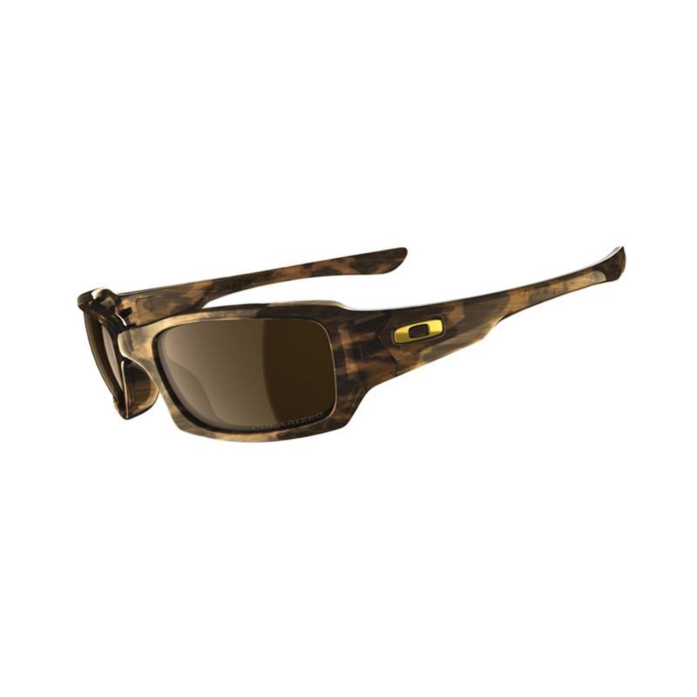 oakley mens fives squared polarized sunglasses